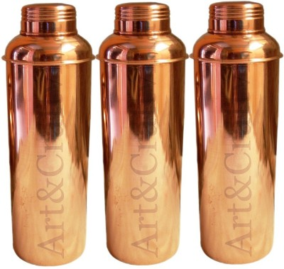 Artandcraftvilla ACUB-83 800 ml Bottle(Pack of 3, Copper)