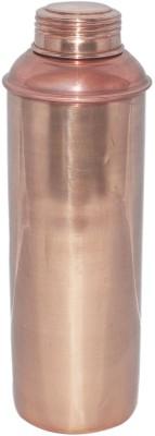Dakshcraft Plain Handmade Copper Thurmas 800 ml Bottle