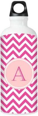 Nutcase Sticker Wrap Design - Monogram / Initial Name - A 800 ml Bottle