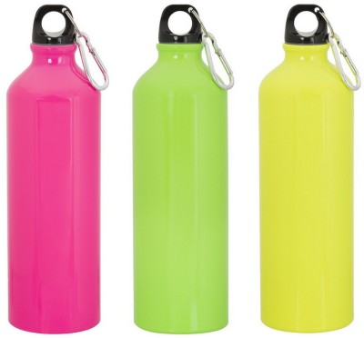 GADGE NEON SPORTS BOTTLE GREEN, YELLOW AND PINK 750 ml Sipper