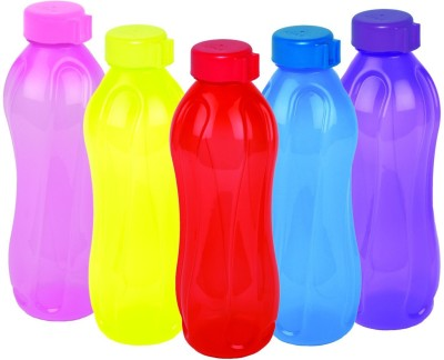 Cello Aqua Kool Multi Bottle(Pack of 5, Multicolor)
