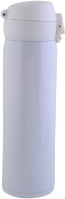 Minura Stainless Steel White Glitter Thermo Flask 500 ml Bottle