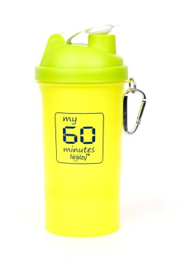 My 60 Minutes Shaker With 1 Storage Neon 600 ml Sipper