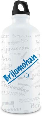 Hot Muggs Me Graffiti - Brijamohan Stainless Steel Bottle, 750 ml 750 ml Bottle
