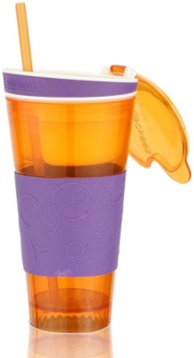 DIZIONARIO Snackeez Multi Purpose Drink & Snack Travel Cup 550 ml Sipper