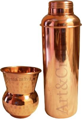 Artandcraftvilla ACUB-1 800 ml Bottle(Pack of 2, Brown)