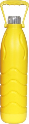 Regal Touch Insulated Cold Plastic Yellow - 1000 ml Bottle