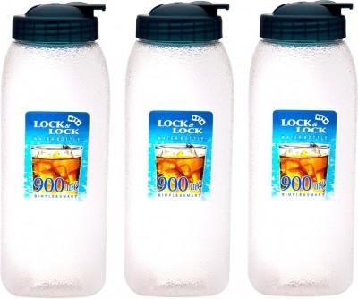 Lock&Lock Blue Lid, Set of 3 900 ml Bottle
