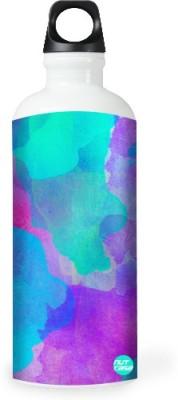 Nutcase Sticker Wrap Design - Watercolors - Blue 800 ml Bottle