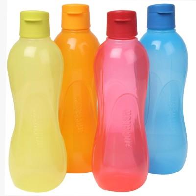 Ratan Plastics All Fresh Multicolour Combo PP 750 ml Bottle