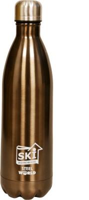 SKI Homeware steel world 1000 ml Bottle
