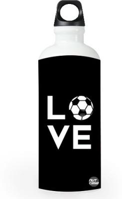 Nutcase Sticker Wrap Design - Football Love 800 ml Bottle