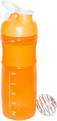 Excel Crafts Blender Shaker Orange 760 ml Bottle, Sipper