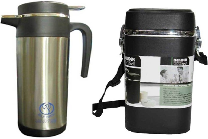 Blue BIrds USA Homeware Stainless steel coffee pot with lunch...