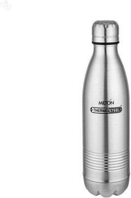 Milton Thermosteel Duo DLX 500 ml Flask(Pack of 1, Silver) at flipkart