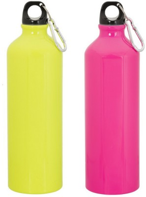 GADGE NEON SPORTS BOTTLE PINK AND YELLOW 750 ml Sipper