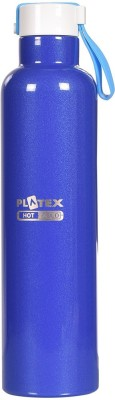 TRUENOW Ventures Pvt. Ltd. Steel insulated Tip Open Cap Hot n Cold BottleThermas Well Technology Keeps Liquids Hot 12hrs & Cold 24 Hrs :: Capacity-750 Ml 750 ml Bottle(Pack of 1, Blue)