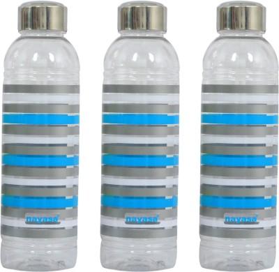 nayasa metalis 1000 ml Bottle(Pack of 3, Blue)