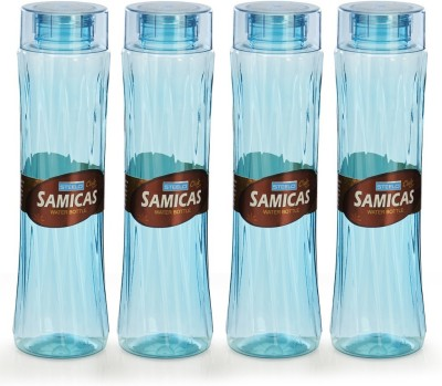 Steelo 1000ml x 4 pcs Premium PET Bottle Set (Samicas Green) 1000 ml Bottle