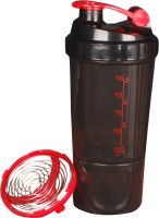 eWorld Speed 1 Storage Shaker Red 500 ml Shaker(Pack of 1, Red)