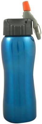 Carbon Water Bottle Sports Blue 700 ml Bottle
