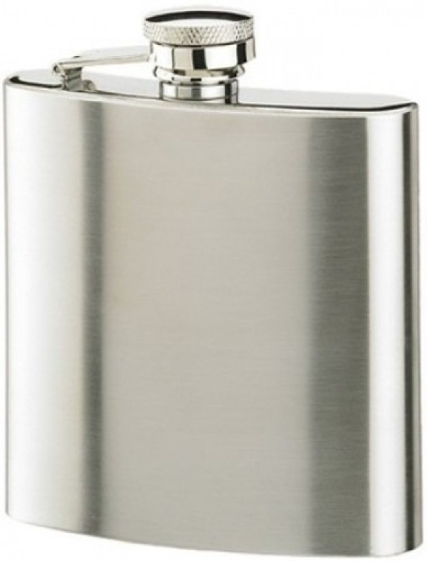 Protos SS HipFlask 200 ml Flask(Pack of 1, Silver)