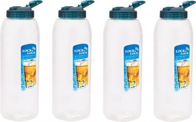 Lock&Lock Blue Lid, Set of 4 1.2 L Bottle