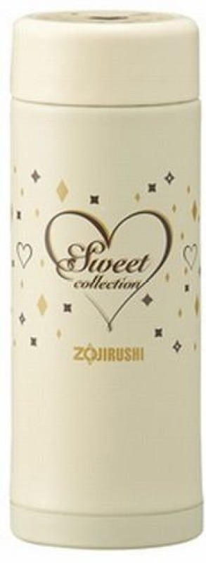 Zojirushi Zr-Sm-Ea25-Cz S/S Vacuum Bottle 0.25l-Milky Vanila 0.25 L Flask(Pack of 1, Beige)