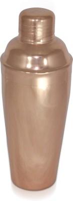 Dungri India Craft copper plating Cocktail Shaker/ Mocktail Shaker/Drink Mixer/Capacity-24 oz 750 ml Bottle