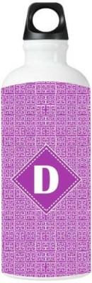 Nutcase Sticker Wrap Design - Monogram / Initial Name -D 800 ml Bottle