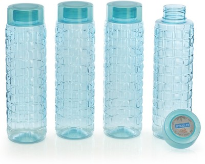 Steelo 1000ml x 4 pcs Premium PET Bottle Set (Solitaire Green) 1000 ml Bottle