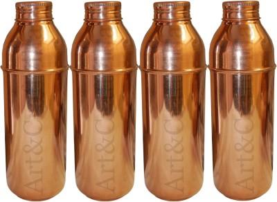 Artandcraftvilla ACUB-88 800 ml Bottle(Pack of 4, Brown)