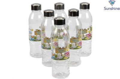 Sunshine Singam Water With Designer Steel Cap And Designer Floral Print 1 L Bottle