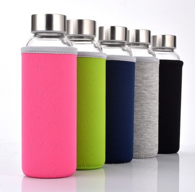 Serenus Homes Fashion on the GO with Nylon Cover 400 ml Bottle