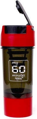 My 60 Minutes Red Cyclone Gym Shaker 500 ml Sipper