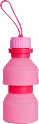 Viva Smart stylish look silicon fordable and changeable size and shape for water,juice 500 ml Bottle