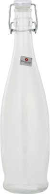 infenite Aggarwal Crockery & Scientific Stores Italian Clear White with Clear Lid 1000 ml Bottle