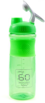 My 60 Minutes Green Cyclone Gym Shaker 500 ml Sipper