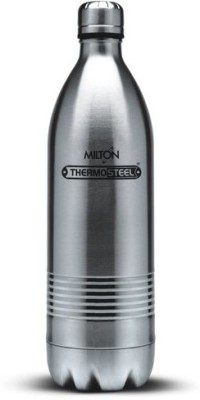 Milton Thermosteel Duo Dlx 1000 ml Bottle(Pack of 1, Silver)