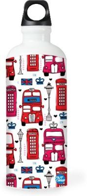 Nutcase Sticker Wrap Design - Uk London City 800 ml Bottle