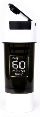 My 60 Minutes White Cyclone Gym Shaker 500 ml Sipper