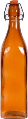 Smile2u Retailers Designer Square Shape Glass 1000 ml Bottle