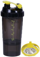 eWorld Speed 1 Storage Shaker Yellow 500 ml Shaker(Pack of 1, Yellow)
