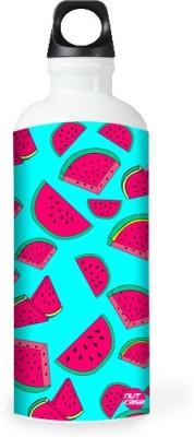 Nutcase Sticker Wrap Design - Watermelons Love 800 ml Bottle