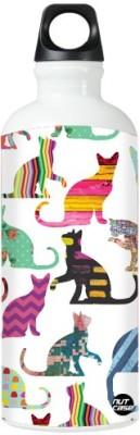 Nutcase Sticker Wrap Design - I Love Cats 800 ml Bottle