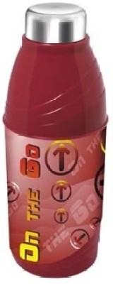 Milton Kool N Sporty (600) School Range 520 ml Water Bottles(Set of 1, Red)