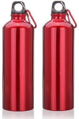 Caryn WBank,s Combo In Glossy Red 750 ml Flask