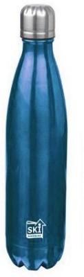 SKI Steel World Vaccume Hot & Cold Water Bottle 1000 ml Bottle