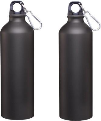 Phoenix Set of 2 Matte Black 600 ml Bottle