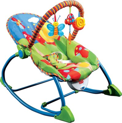 LuvLap Butterfly Toddler Rocker